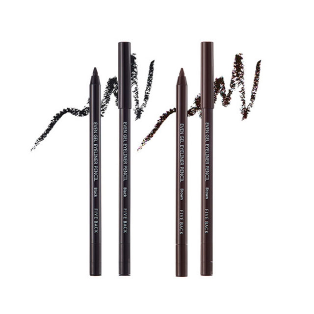 Bút kẻ mắt dạng gel FIVE BACK  Even Gel Eyeliner Pencil 0.5g